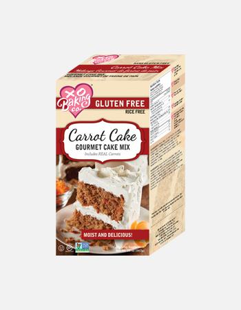 Carott Cake Gourmet Cake Mix.
