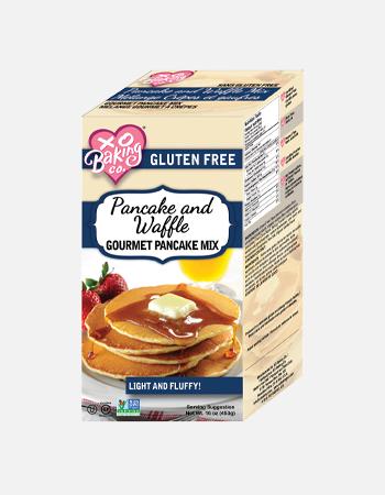 Pancake and Waffle Gourmet Pancake Mix.