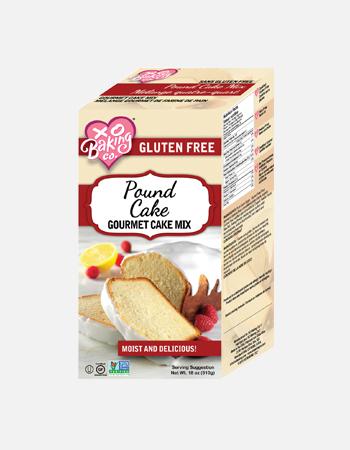 Pound Cake Gourmet Cake Mix.