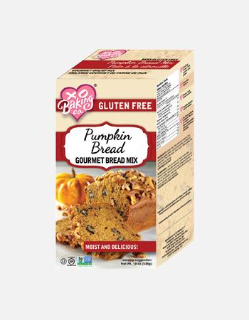 Pumpkin Bread Gourmet Bread Mix.