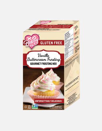 Vanilla Buttercream Frosting Gourmet Frosting Mix.
