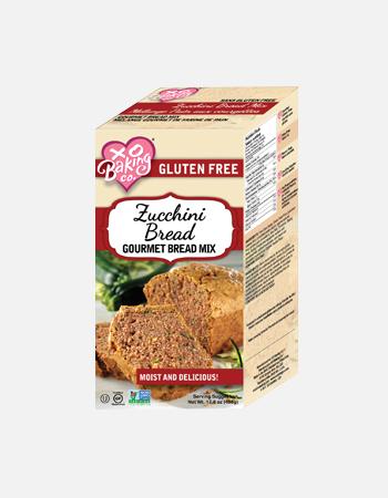 Zuccini Bread Gourmet Bread Mix.